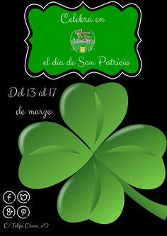 ¡¡¡Vamos a celebrar en Cervecería con Jota a nuestro santo favorito... SAN PATRICIO!!!