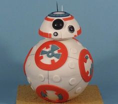 "I'm afraid R2 has some SERIOUS new competition in the ""adorable droid"" category.  That's right, roll on out here, BB8!"