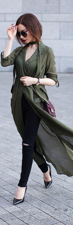 Army Green / Fashion By Sonya