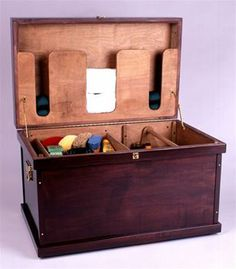 tack trunk~The Hope Chest for the horse girl ; Dream Stables, Dream Barn, Horse Barn Decor, Luxury Horse Barns, Diy Storage Trunk, Tack Locker, Tack Box, Tack Trunk, Horse Tack