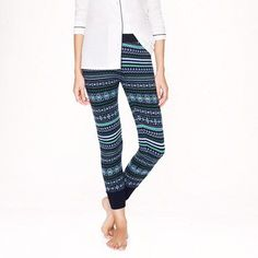 Fair isle leggings - A Very Secret Pinterest Sale: 25% off any order at jcrew for 48 hours with code SECRET