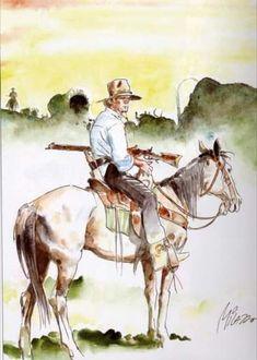 Ken Parker, Le Far West, Horses, Animals, Pintura, Animales, Animaux, Animal, Animais