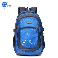 RoyaDong 2017 School Bags for Teenagers Boys Girls High Quality Children  Students Backpacks Kids Nylon Backpack Child Book Bag 9a2b640f7a02d