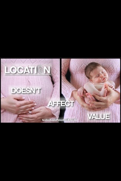 Pro life - Location doesn't affect value.