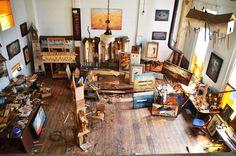 Robert Hite's studio