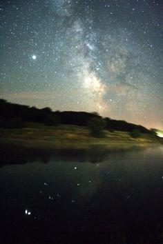 Hungary by night Star View, Sky Full Of Stars, Sky Photos, Space Time, Dark Skies, Sun Moon, Aurora Borealis, Milky Way, Natural World