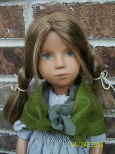 "Custom Portrait Sasha Doll ""Amy Dorrit"" from Dickens ""Little Dorrit"" by Spring Valley Studios Sasha Dolls"