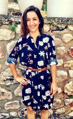 Late Archer appreciation: it's a shirt, it's a dress, it's a shirtdress! | Sewing Tidbits | Bloglovin'