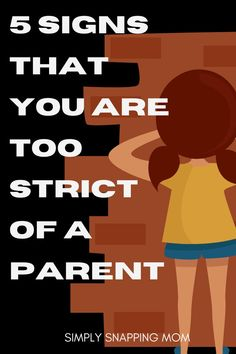 You may be too strict of a parent if your kids are giving you these 5 signs. Learn the 5 signals that you may have TOO many rules, restrictions, and routines in your home. Parenting shouldn't be so hard - learn how to raise happy kids while staying sane. Self Development Books, Development Quotes, Child Development, Gentle Parenting, Parenting Advice, Positive Self Affirmations, Parent Resources, Self Motivation, Emotional Intelligence