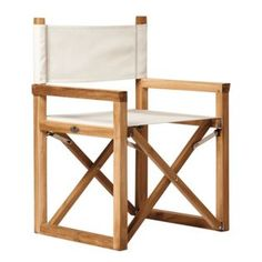 Serena & Lily Director's Chair – Ivory