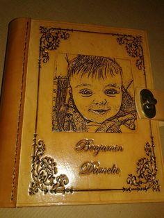 album  artesanal personalizado cuero 100 fotos 13 x 18