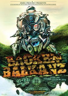 HMSU представя 13-тото издание на Broken Balkanz Фес