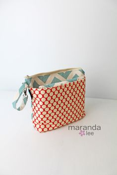 Deluxe Wipee Dipee Bag  Diaper Clutch Set with by marandalee, $48.00