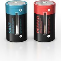 Battery Salt & Pepper Shakers $11.99 Need this for my collection!