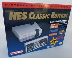 #videogames #Gamers #nintendo classic mini Nintendo Nes Classic Edition Mini Console Brand New 499.95      Item specifics     Condition:        New: A brand-new, unused, unopened, undamaged item...