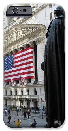 The New York Stock Exchange iPhone and Samsung Cases. By RicardMN Photography