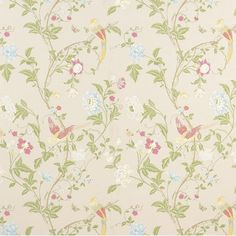 Papel Pintado Summer Palace Azul Empolvado   Laura Ashley   Moda Y  Decoración Para Tu Estilo De Vida | Wall Art | Pinterest | Laura Ashley, ...