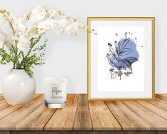 White Art, Black And White, All Print, Watercolor Art, Wall Art Prints, Wall Decor, Place Card Holders, Tapestry, Handmade Gifts