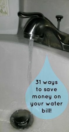 Ways to Save Money on Your Water Bill - http://saviorcents.com/ways-save-money-water-bill/ - #LowerYourWaterBill, #MoneySavingIdeas, #SaveMoneyOnYourWaterBill