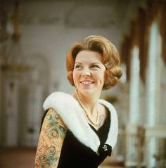 #Queen #beatrix of the #Netherlands #tattoo (to show my daughter Beatrix)
