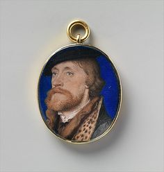 Hans Holbein the Younger, Thomas Wriothesley, first Earl of Southampton (ca. 1535, Metropolitan Museum of Art, New York)