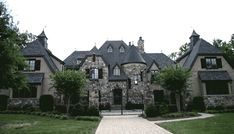 Grand French Country Chateau - 17751LV | European, French Country, Luxury, Photo Gallery, 1st Floor Master Suite, Butler Walk-in Pantry, CAD Available, Den-Office-Library-Study, Elevator, In-Law Suite, MBR Sitting Area, Media-Game-Home Theater, PDF | Architectural Designs