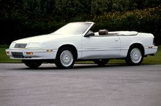 chrysler lebaron 1990 - Google Search, my next car possibly or something close.  Rich has one sitting at the garage he's fixing up. I put dibbs :0)