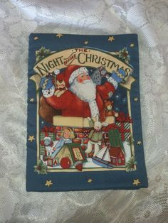 Christmas Children Cloth Book The Night Before by BabyRaggz, $16.00