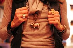 hippo necklace! nycpretty.com
