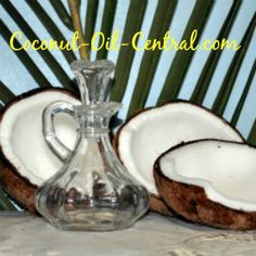 Oil sclerosis virgin coconut multiple