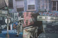 I Love NY - collage