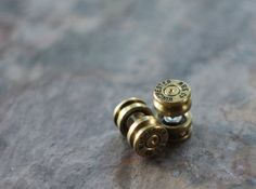 Fake Plug Bullet Earrings. $24.00, via Etsy.