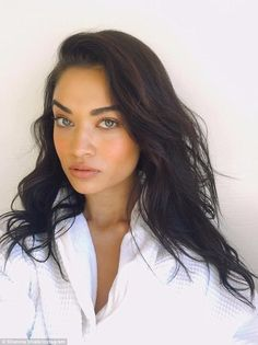 Safe and sound: Speaking to KIIS 106.5 FM on Thursday morning while at a photo shoot in LA, Shanina Shaik assured fans 'everything's intact' after being involved in a hit and run accident on Tuesday