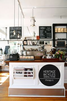 First thing I wanted to do once I landed in Chicago was to park myself in a charming little cafe and folks recommended I trek over to Heritage Bicycles in the Lakeview area. This unique concept sho...