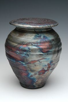 62 best pet cremation urns memorials images on pinterest in 2018 handmade raku cremation urn in dolphin blue solutioingenieria Image collections