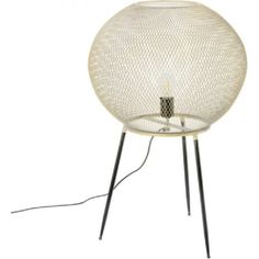 Stehlampe Pure gold