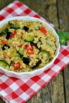 Cold Vegetable Salads, Vegan Dinners, Guacamole, Risotto, Grains, Deserts, Rice, Vegetables, Cooking