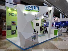 Gale pacific Exhibition stand designed and produced by Strokes Exhibits llc Dubai at Dubai world trade centre, Dubai