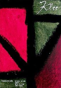 Plakat: Mavignier, Almir - 1962 - (Klee) Museum Ulm