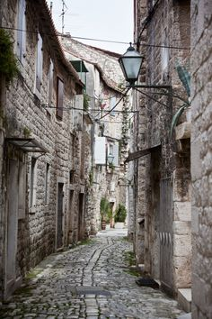 Old Stone Narrow Streets of Trogir, Croatia by dvoevnore . on 500px