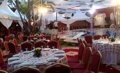 Another example of wedding catering in Rabat, Morocco. Afrah Arribat ( Himmi Ikhwane ) à Rabat/Salé - traiteursdumaroc.ma