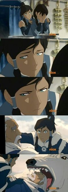 Don't mess with Korra's family