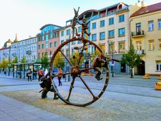 10 Best Cities in Poland for Your Next Trip - merry-go-round. Visit Poland, Merry Go Round, Travel Images, Best Cities, Street View, Pinwheels, History, Daisies, City