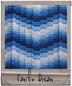 Ravelry: Not Your Nana's Needlework - Bargello Crochet pattern by Laura Pavy
