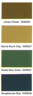 Sherwin Williams craftsman color palette
