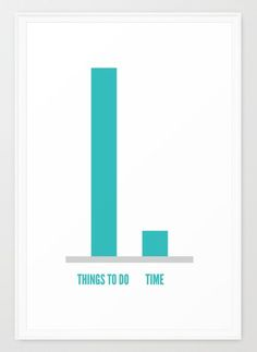THINGS TO DO / TIME print is now available on my Society6  Society6.com/albyantoniazzi