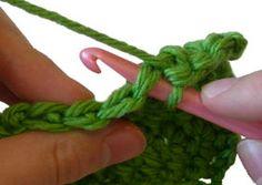 to Crochet: Extended Single Crochet Stitches (exsc) - Crochet Patterns ...