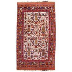 "Antique Afshar Rug, Persia, 5' 2"" x 8' 7"""