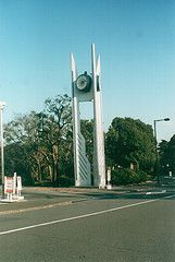 modern clock towers - Google Search Tower Clock, Unique Clocks, Tower Design, Towers, Wind Turbine, Southern, Park, Google Search, Gallery