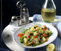 Αγκινάρες αλά πολίτα από την Αργυρώ Μπαρμπαρίγου! Food Categories, Bruschetta, Potato Salad, Food And Drink, Potatoes, Gluten Free, Vegetarian, Vegan, Vegetables